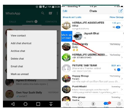 how to make a call with whatsapp