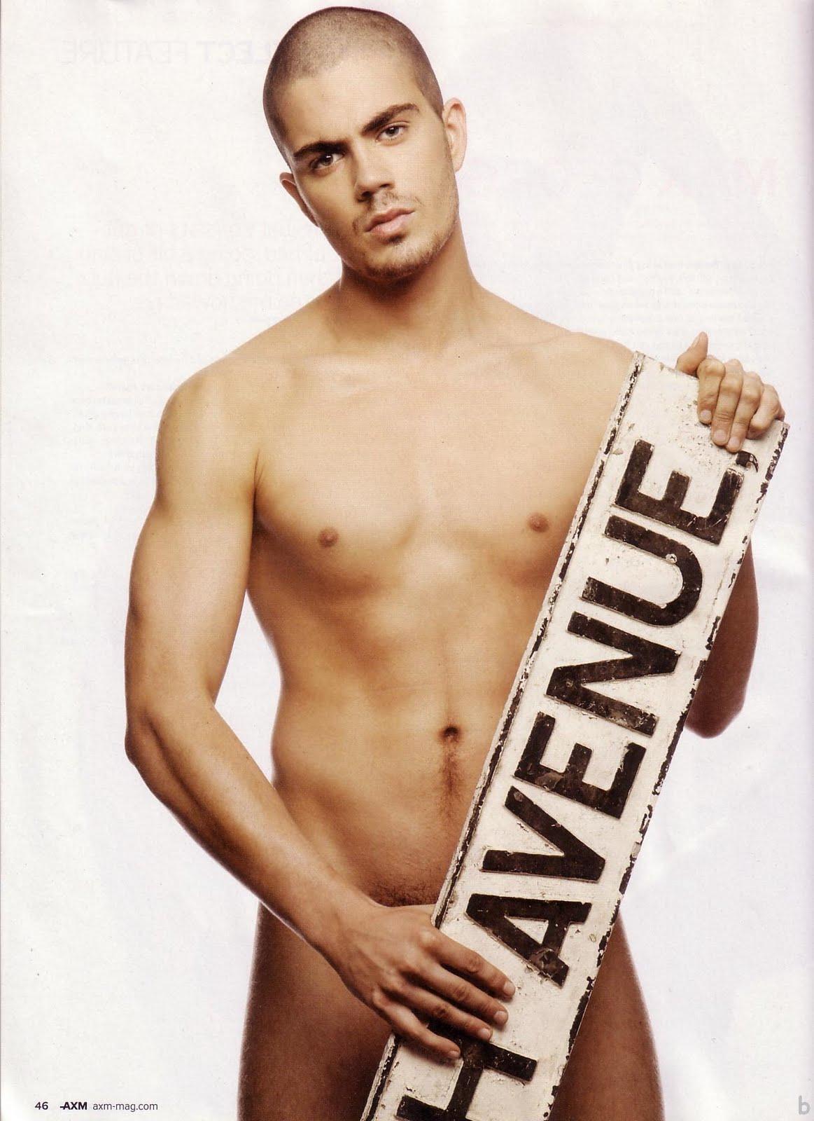 Nude Male Celebrities: Max George