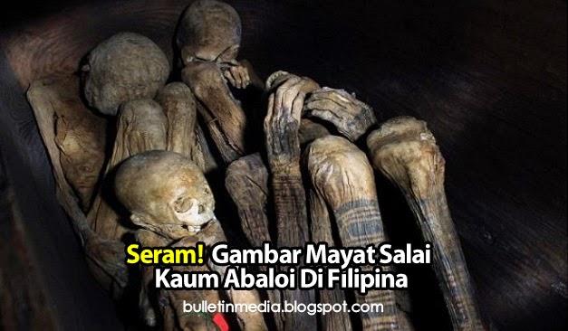 Seram! Gambar Mayat Salai Kaum Abaloi Di Filipina