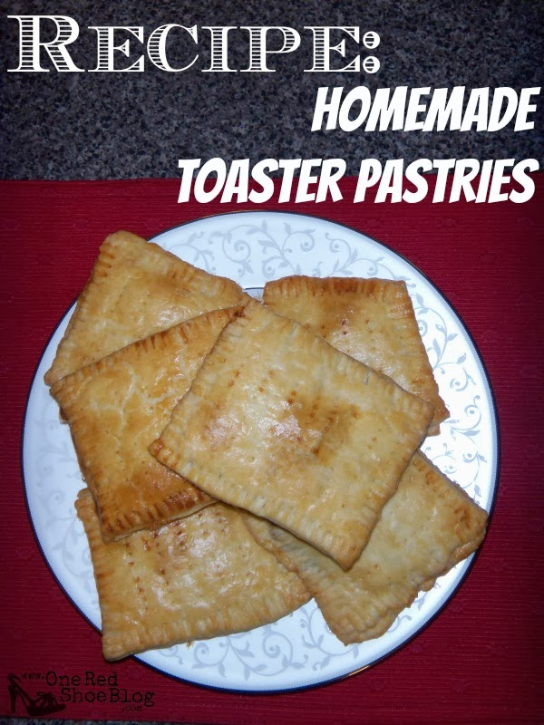 One Red Shoe: Recipe: Homemade Toaster Pastries