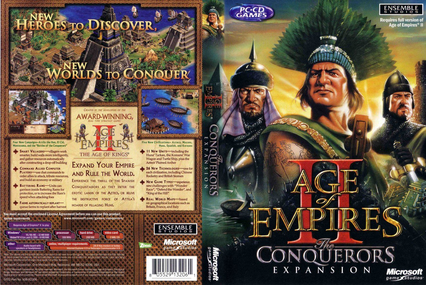 age of empires the conquerors free download full version