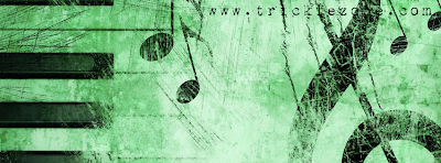 Facebook Timeline Cover Classical Music Passion Green