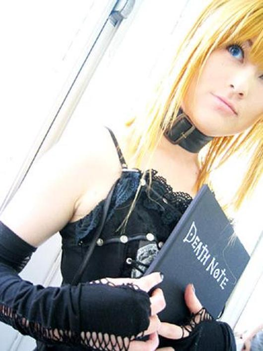 sexy death note cosplay