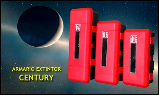 Armario extintor CENTURY, cabina portaextintor