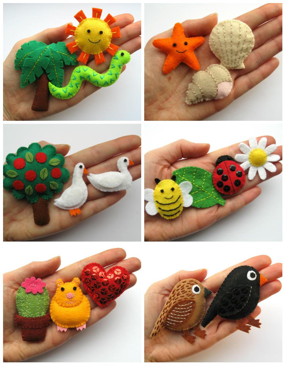 Животные из фетра своими руками фото 5