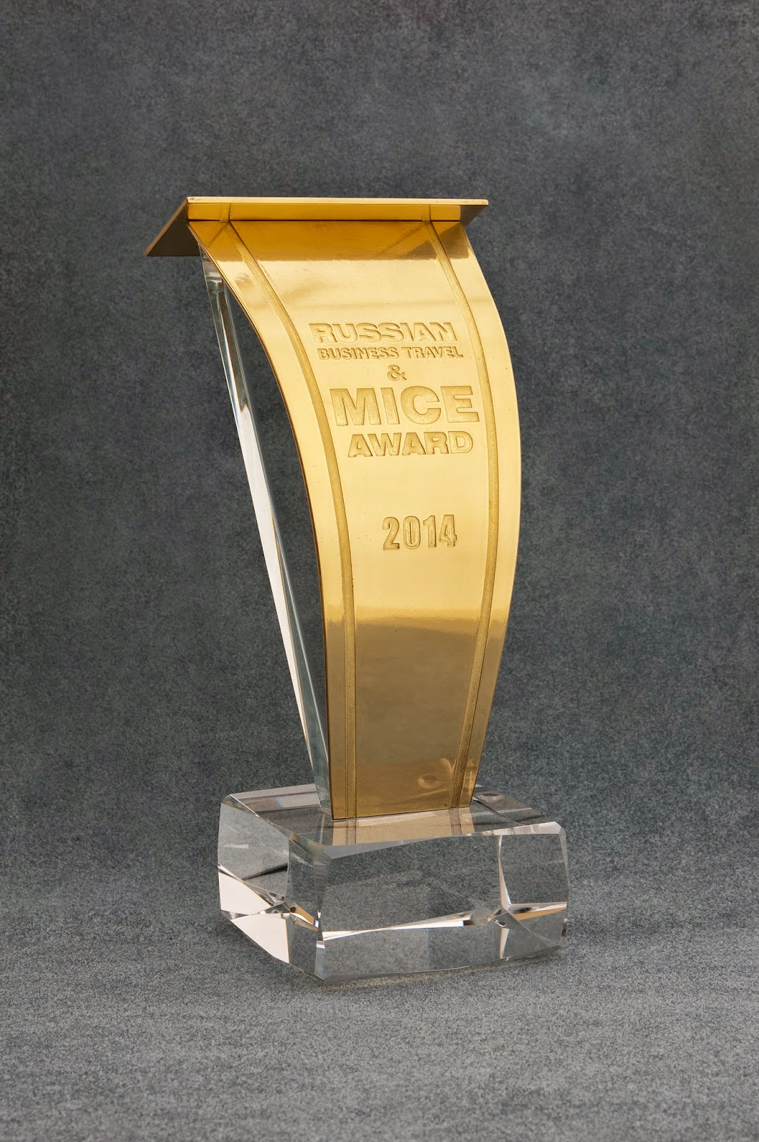 Премия Russian Business Travel & MICE Award 2014