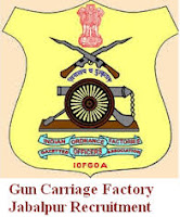 Gun Carriage Factory Jabalpur Recruitment