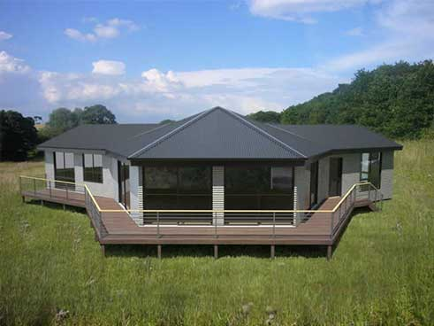 Modular home modern modular homes kits Mobile home addition kits