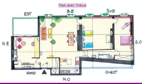 plan de maison feng shui gratuit. Black Bedroom Furniture Sets. Home Design Ideas
