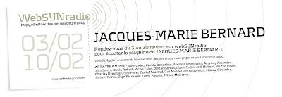 jm bernard websynradio fr Un banquet sonore de Jacques Marie Bernard sur websynradio