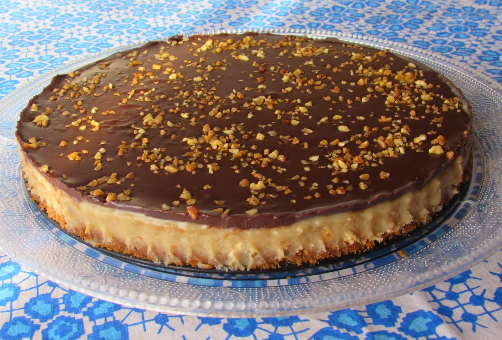 Tarta chocolatina, nocilla, nutela, receta
