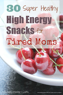 Healthy Snacks for New Moms