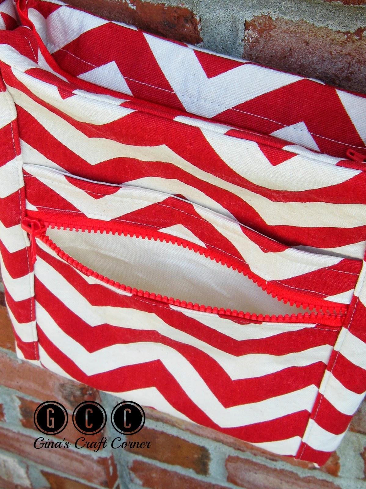 Two Zip Hipster Crossbody by Ginas Craft Corner (Pattern by Erin Erikson)