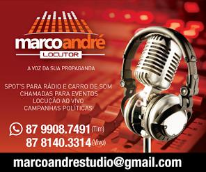 MARCO ANDRÉ LOCUTOR.
