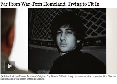 New York Times original headline