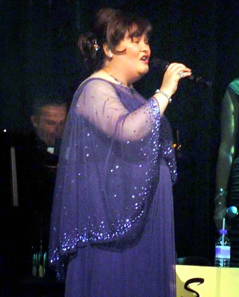 Susan Boyle in Manchester 3-25-2014