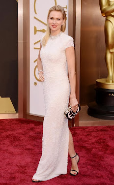 Naomi Watts by Calvin Klein collection. Premios Oscar 2014.