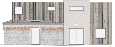 Colour Plan for Cedar Clad Conversion