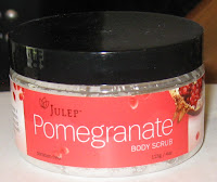 Julep Pomegranate body scrub