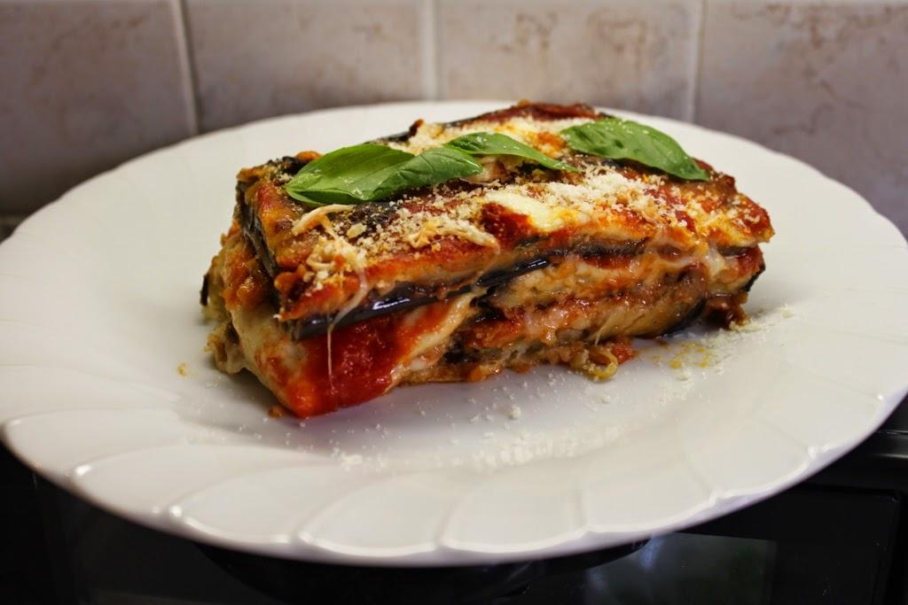 Eggplant Parmigiana - Mama Isa's Aubergine Parmigiana