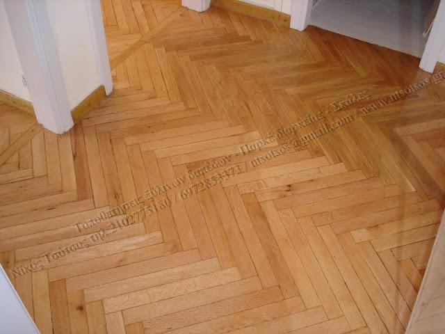 Συντήρηση ξύλινου δαπέδου με οικολογικά υλικά
