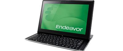 Epson Keluarkan Notebook Geser Endeavor S
