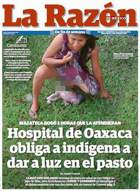 Indigenous Woman Gives Birth On Hospital Lawn In Mexico After Doctors Denied Her Care