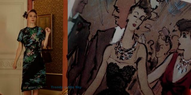 El tiempo entre costuras clienta alemana y Nina Ricci. Capítulo 3.