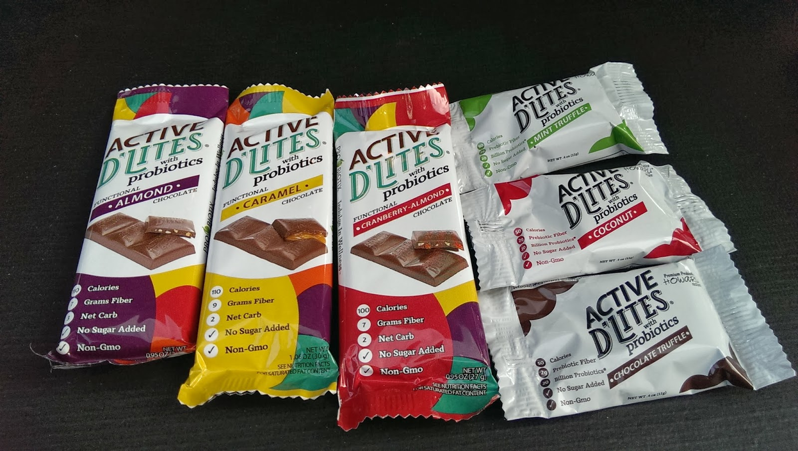 Active+D Active D'Lites Chocolate Bars  Review - DailyBites Review