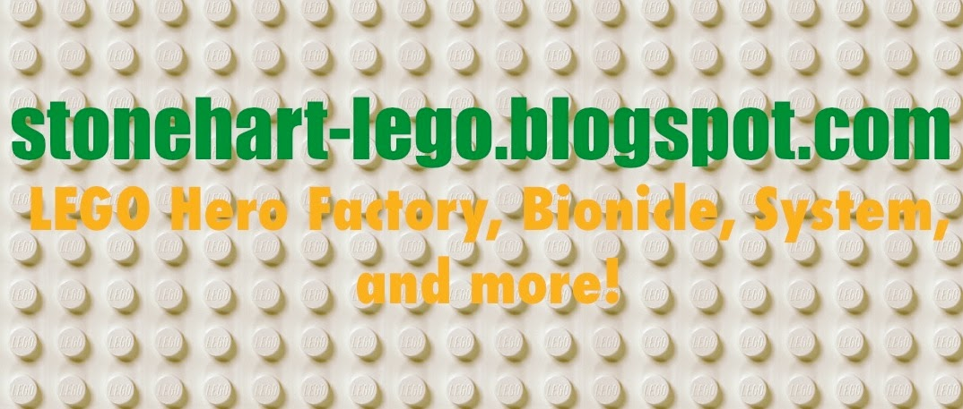 StoneHart LEGO reviews and MOCs