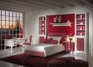 kamar tidur pink minimalis