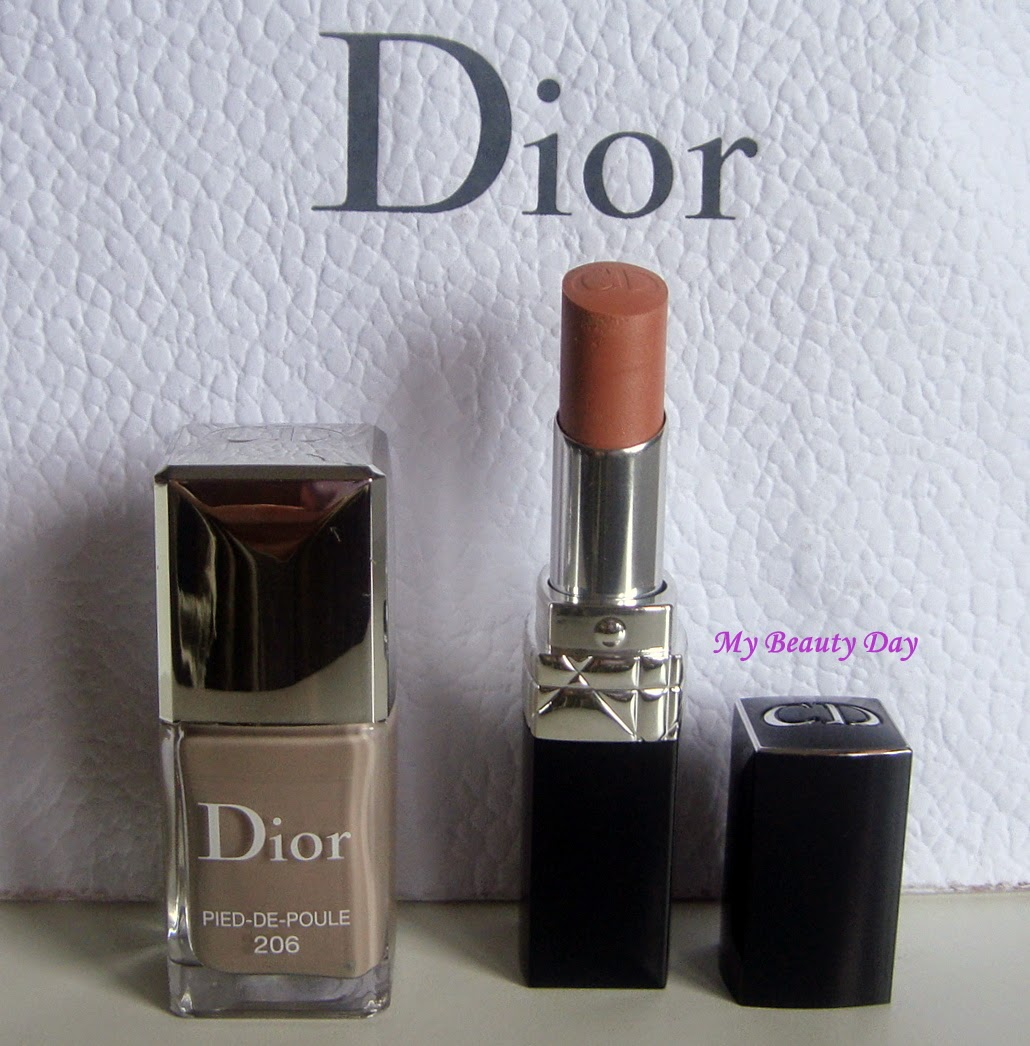 My beauty day dior vernis pied de poule rouge dior baume milly - Pied vernis rouge ...