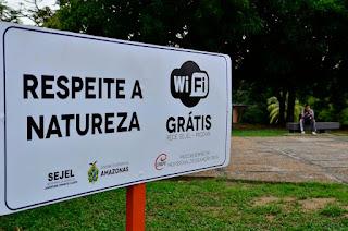 Governo do Amazonas inaugura oito pontos de Wi-Fi de acesso gratuito na Vila Olímpica de Manaus