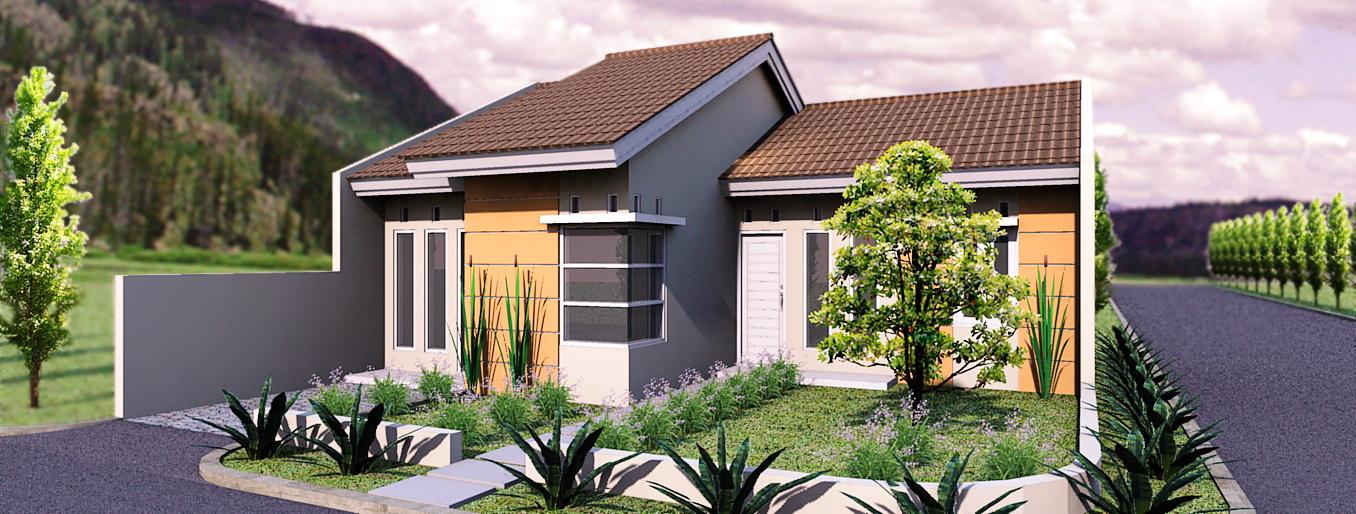 rancangan desain rumah sederhana 2 lantai berbagai type