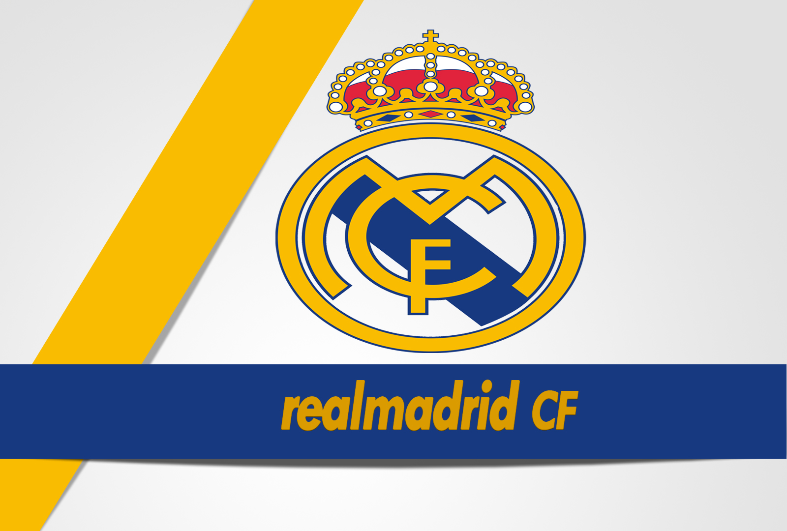 Real madrid cf logo hd desktop wallpapers