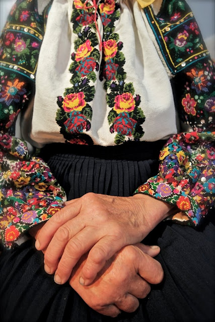 Ukrainian Embroidery by Ivan Yasnij