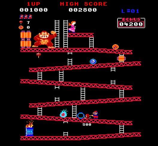 Donkey Kong, Arcade Vintage