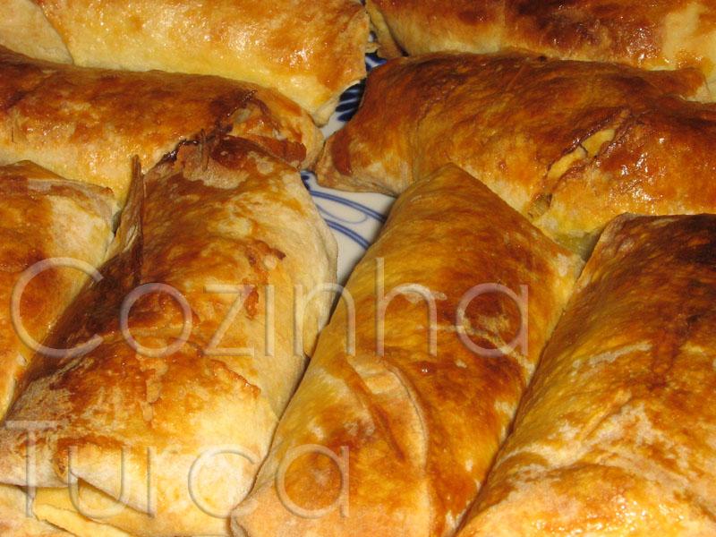 Pastéis de Frango em Massa Filo (Tavuklu Börek)