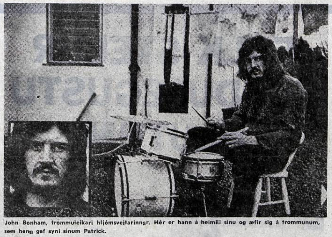 Image result for john bonham june 1970