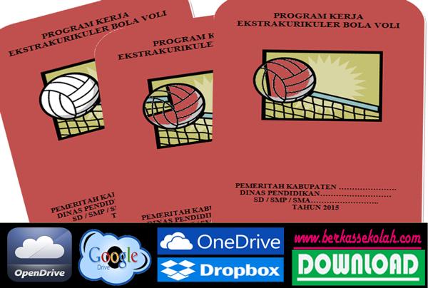 Program Ekstrakulikuler Bola Volly SD SMP SMA 2015
