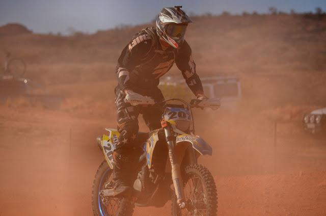 Tatts Finke Desert Race 2015, bike, Husaberg 570, Aputula, Alice Springs, prologue