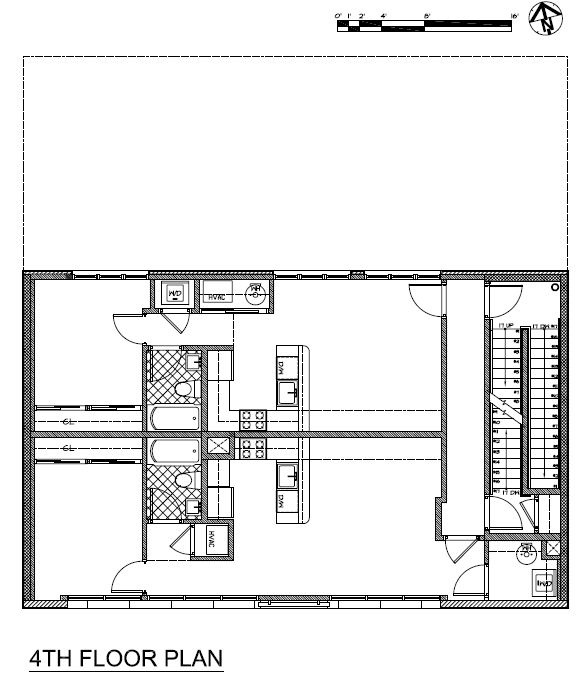 Perfect 4th Floor Plan  Drawing © Courtesy Of Minervini Vandermark Architecture Awesome Design