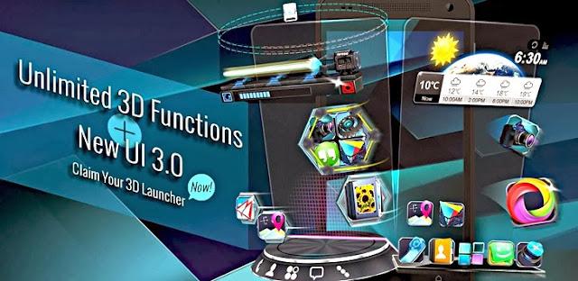 Next Launcher 3D v3.08 APK