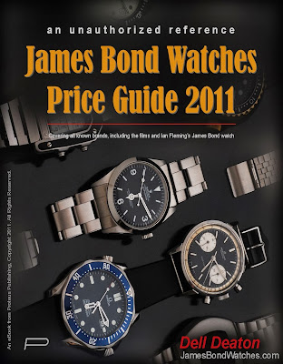 James Bond Watches Price Guide 2011