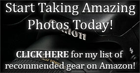 Canon Rebel T6s (760D) Camera Gear Wish List on Amazon - CLICK HERE