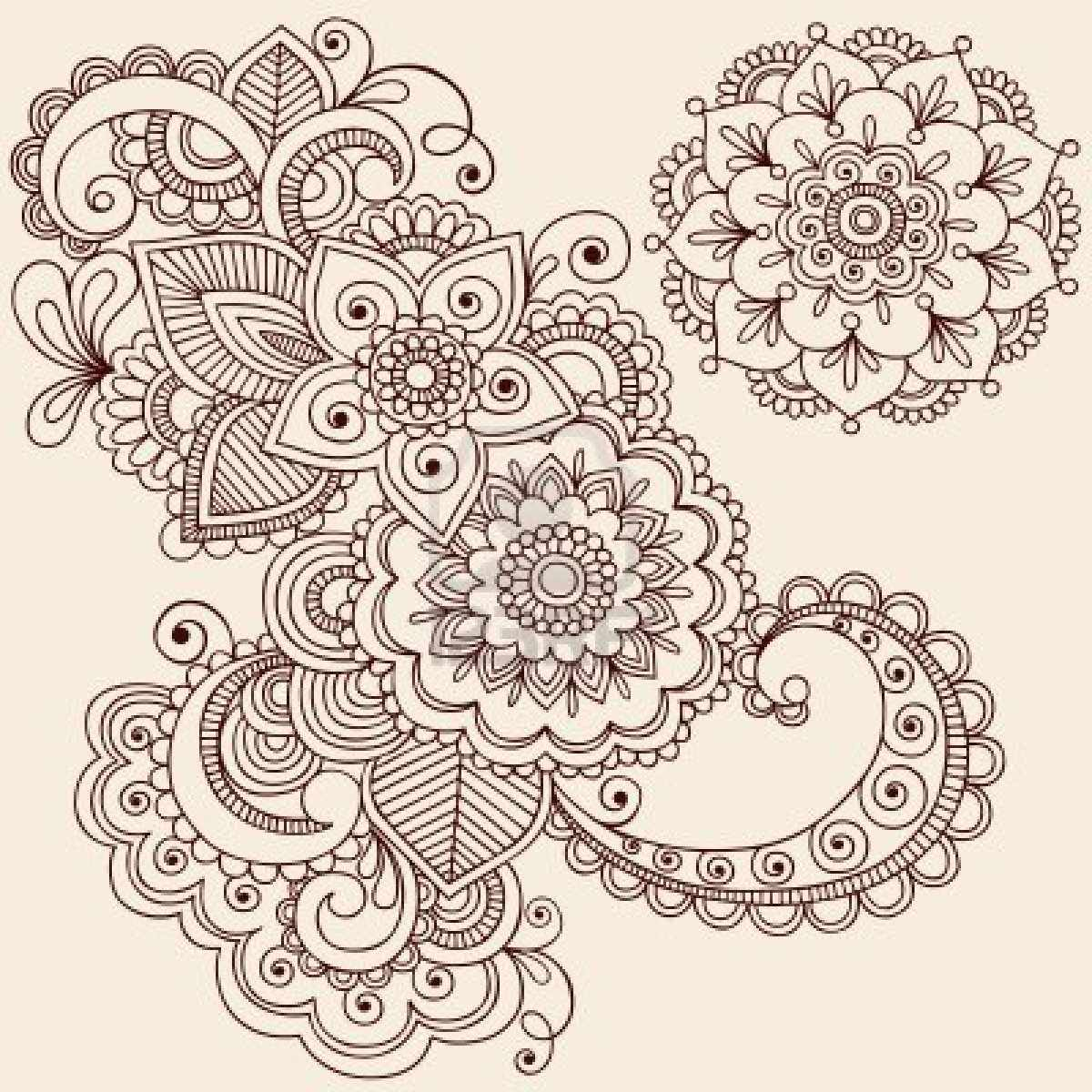 Mandala Madness A Cool Floral To Color