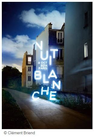 visuel officiel Nuit Blanche 2014