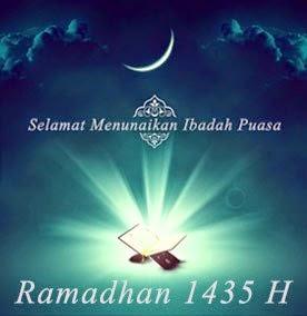 Selamat Menunaikan Ibadah Puasa Ramadhan 1435H/2014M