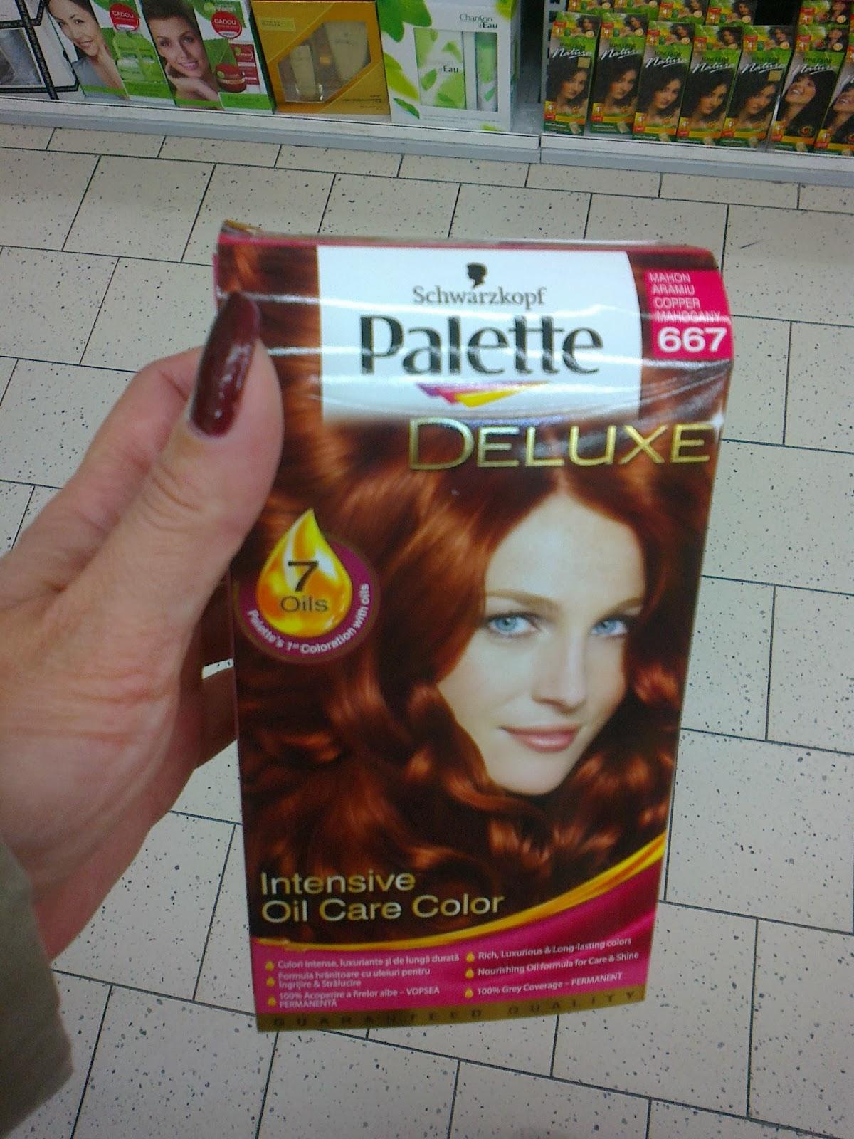 Палитра красок для волос Палет (Palette выбираем цвет, фото)