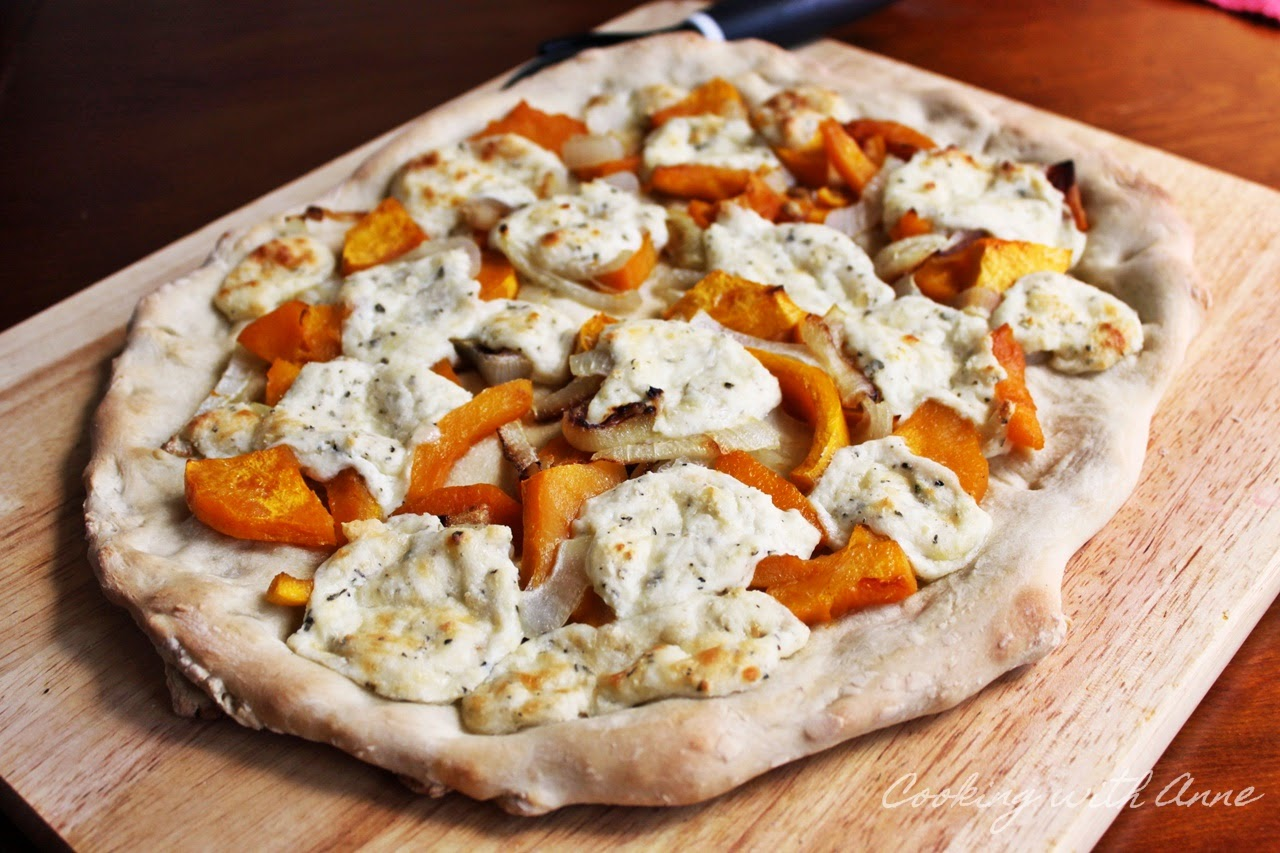 Butternut Squash and Ricotta Pizza